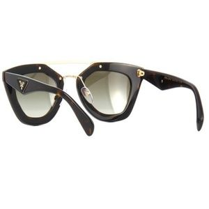 b07a09f1c4 Prada Accessories - Sold Prada Sunglasses Dark Havana w Green Lens